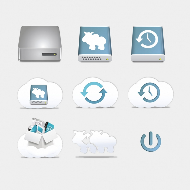 Dolly Drive icons