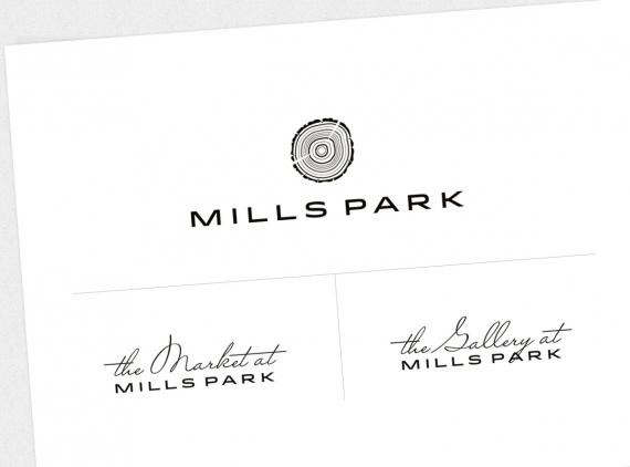Mills Park logos