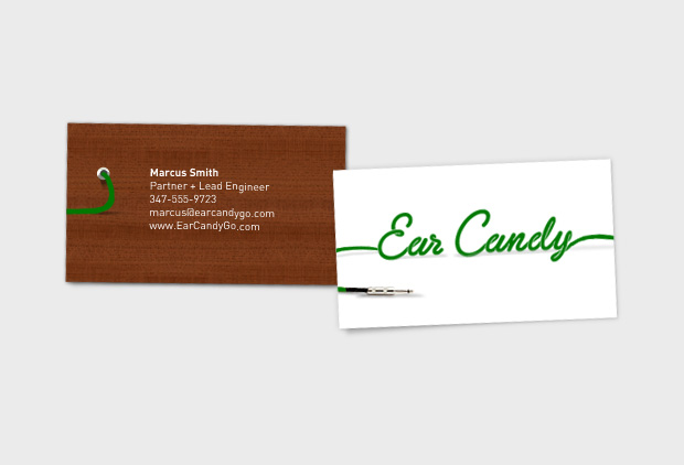 Ear Candy Go business card