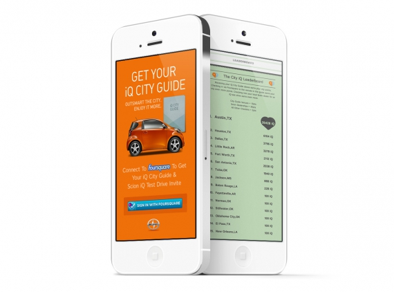 Scion iQ City phones