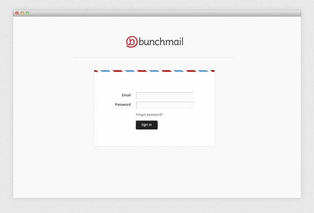 BunchMail website login