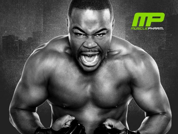 Muscle Pharm's Rashad Evans