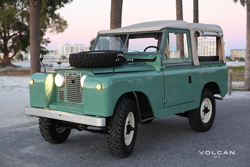 Volcan 4x4 Alfie Land Rover Series II photo