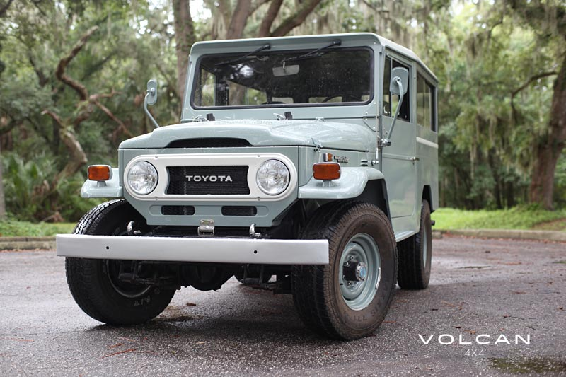 Old Grey FJ43 Land Cruiser