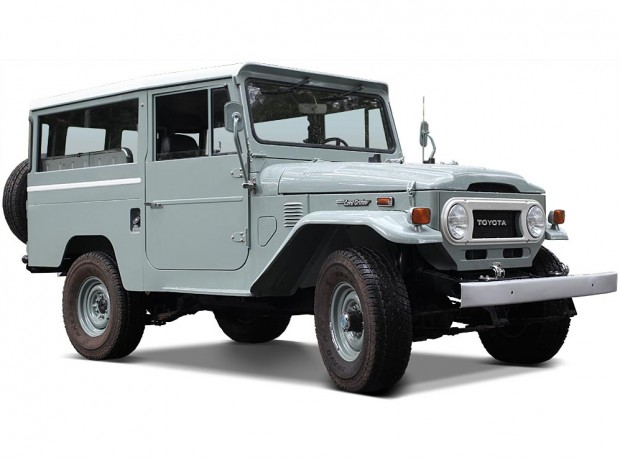 'Old Grey' FJ43 Land Cruiser