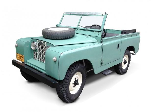 Volcan 4x4 Land Rover Series II